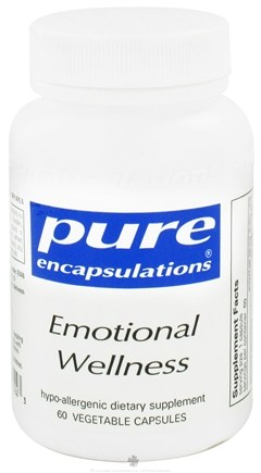 DROPPED: Pure Encapsulations - Emotional Wellness - 60 Vegetarian Capsules