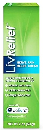 DROPPED: LivRelief - Nerve Pain Relief Cream - 2 oz.