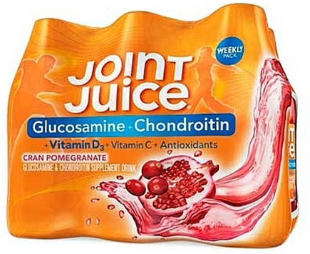 DROPPED: Joint Juice - Glucosamine & Chondroitin Supplement Drink Cran Pomegranate - 6 Bottle(s)