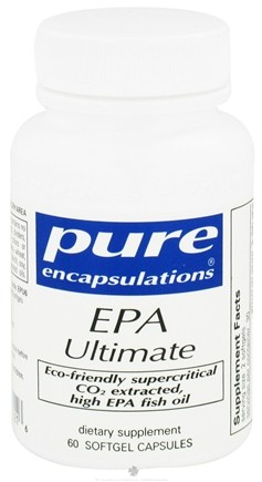 DROPPED: Pure Encapsulations - EPA Ultimate - 60 Softgels CLEARANCE PRICED