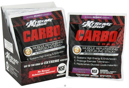 DROPPED: Extreme Edge - Carbo Load Muscle Replenishing and Refueling Stack Bustin Berry - 7 Packet(s)