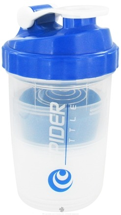 Zoom View - SpiderMix Mini2Go Shaker Bottle Clear