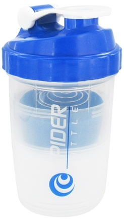 DROPPED: Spider Bottle - SpiderMix Maxi2Go Shaker Bottle Clear Blue - 30 oz.