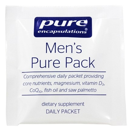 DROPPED: Pure Encapsulations - Men's Pure Pack with Metafolin L-5-MTHF - 30 Packet(s)