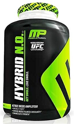 DROPPED: Muscle Pharm - Hybrid NO Nitric Oxide Amplifier - 80 Capsules