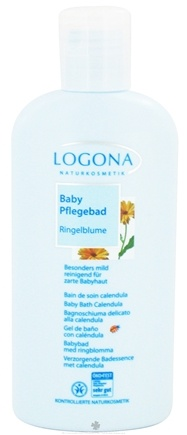DROPPED: Logona - Baby Bath Calendula - 6.8 oz. CLEARANCE PRICED