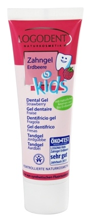 Zoom View - Logodent Kids Dental Gel Fluoride Free