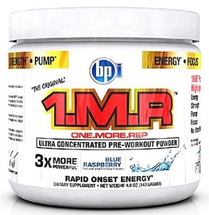 Zoom View - 1 M.R Ultra Concentrated Pre-Workout Powder - 28 Servings