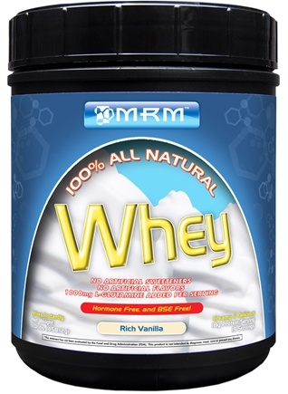 DROPPED: MRM - 100% All Natural Whey Rich Vanilla - 1 lbs.
