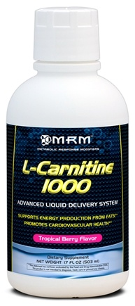 DROPPED: MRM - L-Carnitine 1000 Advanced Liquid Delivery System - 17 oz.