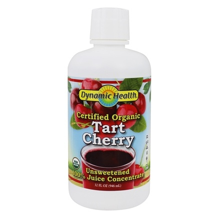 Dynamic Health - Organic Certified Juice Concentrate Tart Cherry - 32 oz.