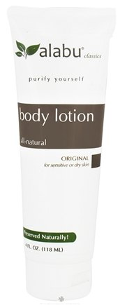 DROPPED: Alabu - Body Lotion for Sensitive or Dry Skin Original - 4 oz. CLEARANCE PRICED
