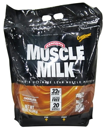 DROPPED: Cytosport - Muscle Milk Genuine Nature's Ultimate Lean Muscle Protein Chocolate - 10 lbs.