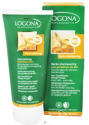 DROPPED: Logona - Hair Conditioner Wheat Protein - 6.8 oz. CLEARANCE PRICED