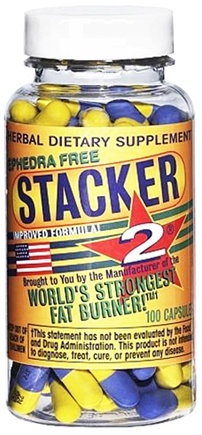 DROPPED: NVE Pharmaceuticals - Stacker 2 World's Strongest Fat Burner - 20 Capsules