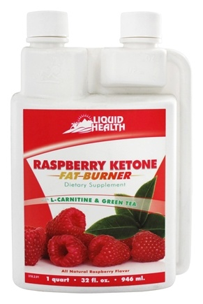 DROPPED: Liquid Health - Raspberry Ketone Fat Burner Raspberry - 32 oz.