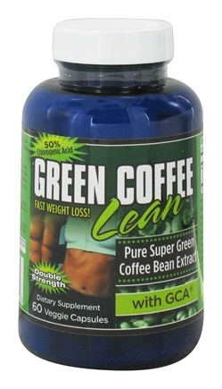 DROPPED: Gold Star Nutrition - Green Coffee Bean Double Strength with GCA 800 mg. - 60 Vegetarian Capsules