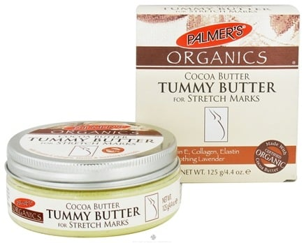 DROPPED: Palmer's Organics - Cocoa Butter Tummy Butter for Stretch Marks - 4.4 oz.