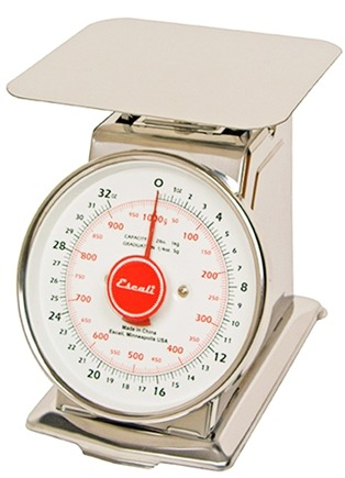 Zoom View - Mercado Dial Scale With Plate 2 lb Capacity DS21P