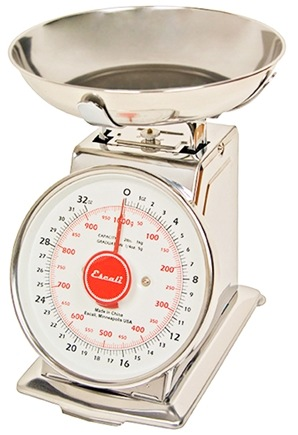 Zoom View - Mercado Dial Scale With Bowl 2 lb Capacity DS21B