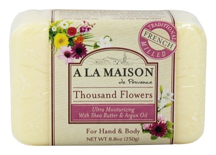 DROPPED: A La Maison - Traditional French Milled Bar Soap Thousand Flowers - 8.8 oz.