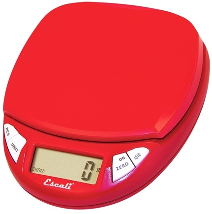 DROPPED: Escali - Pico Digital Pocket Scale N115CR Cherry Red