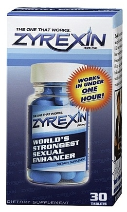 DROPPED: Superbalife - Zyrexin World's Strongest Sexual Enhancer - 30 Tablets