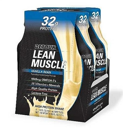 Zoom View - Detour Lean Muscle Ready To Drink High Protein Shake