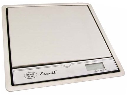 Escali - Pronto Surface Mountable Digital Scale 115B