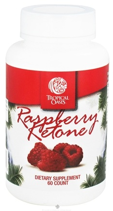 DROPPED: Tropical Oasis - Raspberry Ketone - 60 Capsules CLEARANCE PRICED