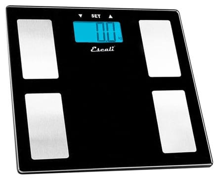 Zoom View - Body Fat, Water, Muscle Mass Digital Bathroom Scale USHM180G