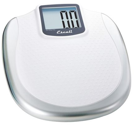 Escali - Extra Large Display Digital Bathroom Scale