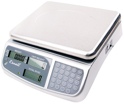 DROPPED: Escali - C-Series Professional Counting Scale Measures Up To 13 Lbs. C136 - CLEARANCE PRICED