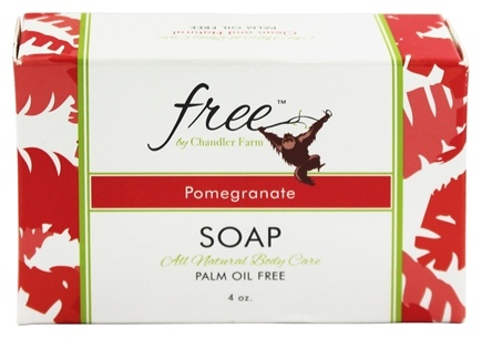 DROPPED: Chandler Farm - Free Soap Pomegranate - 4 oz.