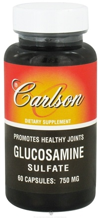 DROPPED: Carlson Labs - Glucosamine Sulfate 750 mg. - 60 Capsules