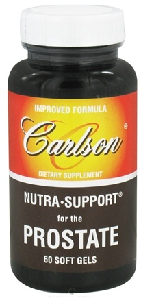 DROPPED: Carlson Labs - Nutra Support for the Prostate - 60 Softgels CLEARANCE PRICED