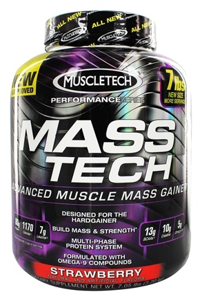 Zoom View - Mass Tech Performance Series Advanced Muscle Mass Gainer