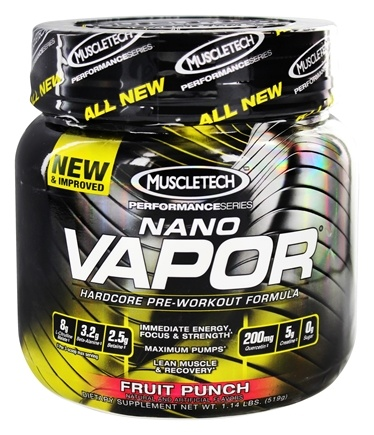 Zoom View - Nano Vapor Performance Series Hardcore Pre-Workout Formula