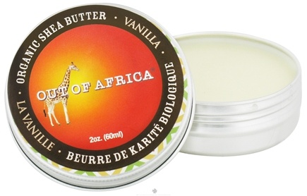 DROPPED: Out Of Africa - Organic Shea Butter Tin with Vitamin E Vanilla - 2 oz. CLEARANCE PRICED