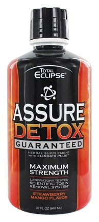 Total Eclipse - Assure Detox Laboratory Tested Scientific Toxin Removal System Strawberry Mango - 32 oz.
