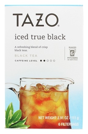 Tazo - Iced Black Tea - 6 Tea Bags