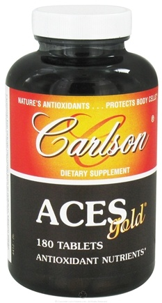 DROPPED: Carlson Labs - ACES Gold - 180 Tablets CLEARANCE PRICED