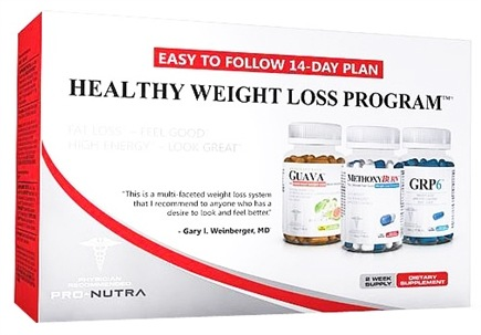 DROPPED: Pro Nutra - Healthy Weight Loss Program 2 Week Supply