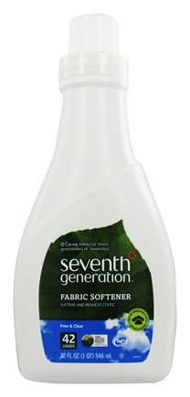 Seventh Generation - Natural Fabric Softener Free & Clear - 32 oz.