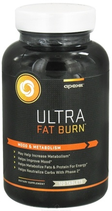 DROPPED: Apex Fitness - Ultra Fat Burn - 120 Tablets CLEARANCE PRICED