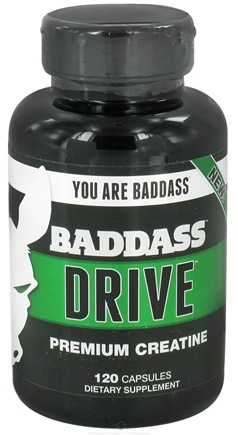 DROPPED: Baddass Nutrition - Drive Premium Creatine - 120 Capsules CLEARANCE PRICED