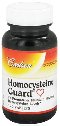 DROPPED: Carlson Labs - Homocysteine Guard - 120 Tablets
