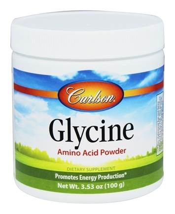 DROPPED: Carlson Labs - Glycine Amino Acid Powder - 3.53 oz.