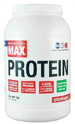 DROPPED: SEI Pharmaceuticals - Max Protein Maximum Muscle Building Formulation Strawberry - 2 lbs.