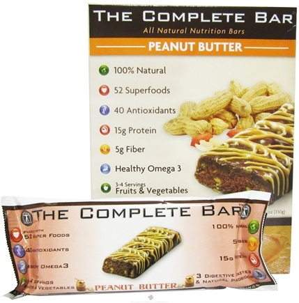 DROPPED: MetraGenix - The Complete Bar Peanut Butter - 1.9 oz. CLEARANCE PRICED